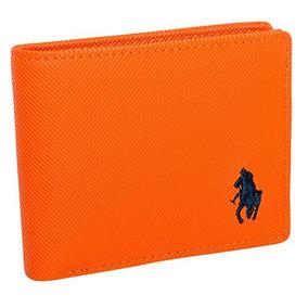 Cartera Polo Hpc 503-1 Color Naranja Caballero Oi