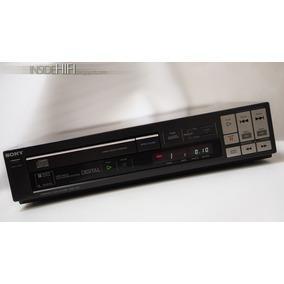 Sony Cdp-102 - 2° Cd Player Lançado Pela Sony 1984 Japão