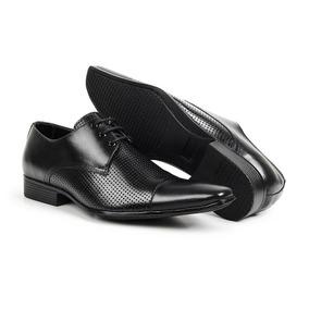 Sapato Furos Bigioni Social Masculino Casual Top