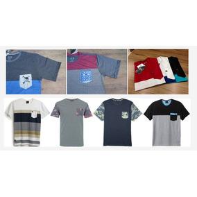 Camisetas Premium Atacado Kit C 4 Bolso Elastano Promoção db671717532