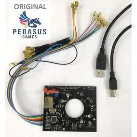 Placa Sensor Óptico Pegasus + Zero Delay Integrada+ Cabo Usb
