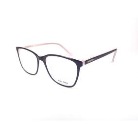 Armacao Oculos De Grau Miu Miu - Óculos no Mercado Livre Brasil e6ebf21bb9