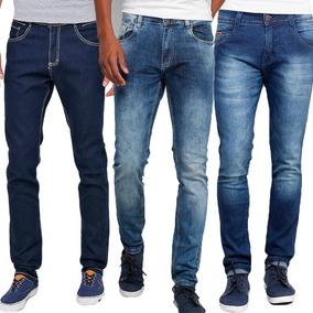 Calças Calvin Klein Calças Jeans Masculino no Mercado Livre Brasil f7ce185562