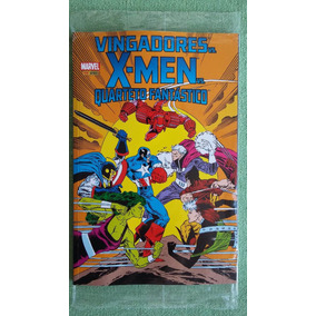 Vingadores Vs X-men Vs Quarteto Fantastc Panini