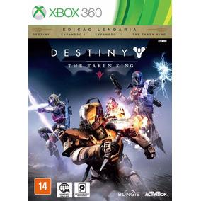 Destiny The Taken King Ed Lendária X Box 360 Mídia Física.