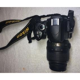 Camara Digital Nikon Slr Modelo D40x Con Lente Nikon Dx