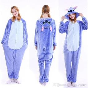Kigurumi Stitch Azul, Pijama Kawai Para Adultos Envio Gratis