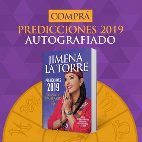 Predicciones 2019 - Jimena La Torre - Autografiado