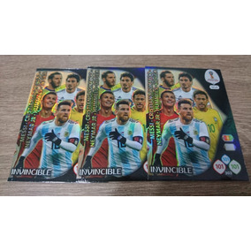 Card Adrenalyn Xl 2018 Invincible - 468 Russia 2018 Panini