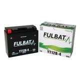 Bateria Moto Fulbat Yt12a-bs 12v 10ah
