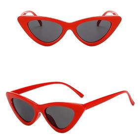 342e0c4c48085 Oculo Sol Gatinho Vermelho Retro De - Óculos no Mercado Livre Brasil