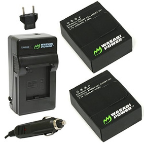 Wasabi Power Battery (2-pack) And Charger For Gopro Hero3+,