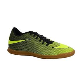 Chuteira Nike Indoor Bravatax Ii Verde Preto - 844441-070 e3abab8a90fcf