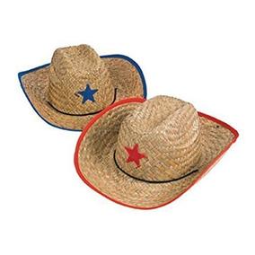 67bc75071833f Diversión Expreso Childs Paja Sombrero De Vaquero Con La Es