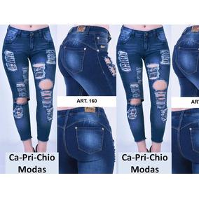 957333449f2 Jeans Mujer Rotos Importados - Ropa y Accesorios en Mercado Libre ...