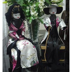 Enfeite Bonecas De Porcelana Na Cabeça Pés E Mãos - Usado