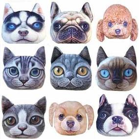 Cojines En Forma De Gato Perro Grades Decorativo Almohadas