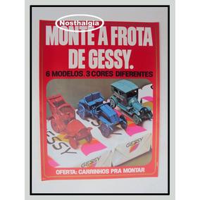 Cartaz Promocional - Sabonete Gessy - Anos 70 - F(233)