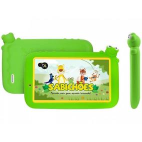 Tablet Dl Sabichões 8gb 7 Android 7 Nougat - Proc. Quad Cor