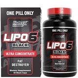 Lipo 6 Black Ultra Concentrado 60caps Nutrex Importado Usa