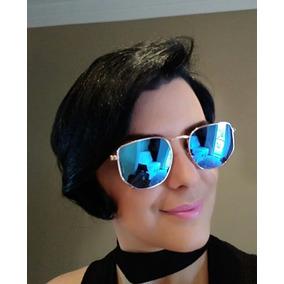 Oculos De Sol Feminino Espelhado Rose - Óculos no Mercado Livre Brasil 869e87dfd8