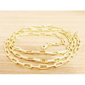 054405b2d8c Cordao Cartier Folheado Ouro Corrent - Corrente Masculino no Mercado ...