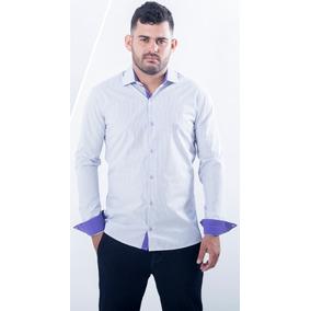 a342e11de Camisa Social Crawford Fio Tinto - Camisas no Mercado Livre Brasil