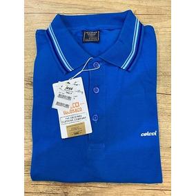 5436710432 Camisa Polo Colcci Masculina Coleção Nova Listras Na Gola