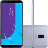 Smartphone Samsung Galaxy J8 64gb 6 Dual Cam 16mp Prata