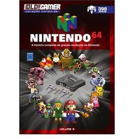 Livro Old Gamer Coleção Consoles Nintendo 64 Edição 9