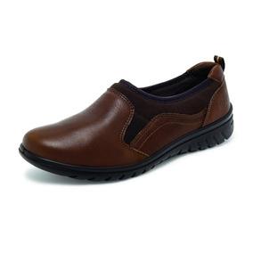 Zapato De Descanso Flexi Dama 35301 Color Café
