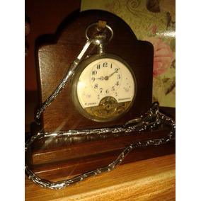 Raríssimo Relógio Hebdomas 8 Jours Prata Watch - Swiss/1915