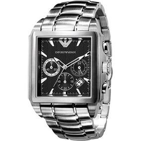 Relógio Masculino Empório Armani Aço Original C nf Ar0659 f59377a828
