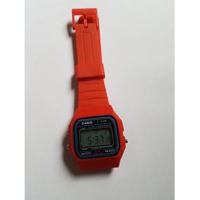 809c2b1a53d Relogio Casio Vintage Vermelho - Relógios De Pulso no Mercado Livre ...