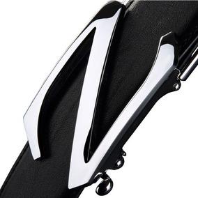 Golf Cinturón De Cuero Para Hombre, Negro