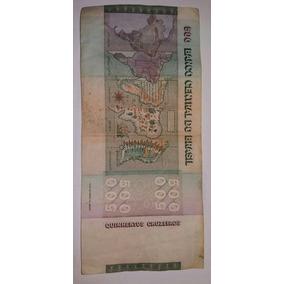 Cédula De 500 Cruzeiros - Raças - Original