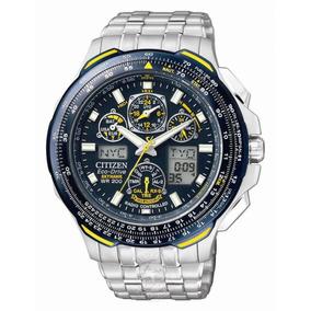Citizen Reloj Eco-drive Jy0040-59l Blue Angels Skyhawk A-t