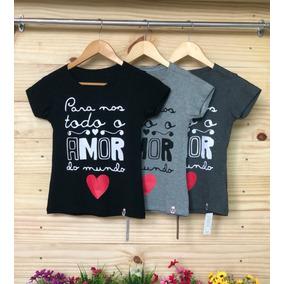 Tshirt Feminina - Combo Promocional