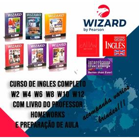 Wizard W2 W4 W6 W8 W10 W12 + Livro Do Professor + Brindes
