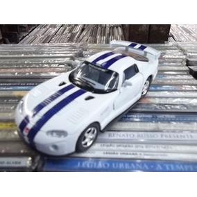 Carro Dodge Viper Kinsmart Linda Miniatura Importada