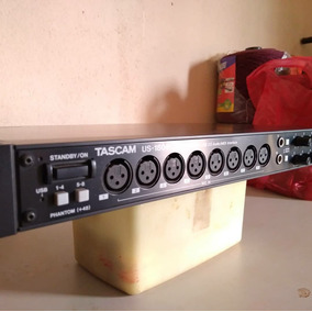 Interface De Audio Tascam Us1800 14 Canais In / 04 Out