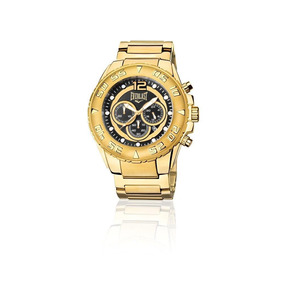 4828763cf9d Relógio Everlast Cronógrafo Cx E Pulseira Aço Masculino