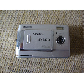 Câmera Digital Yashica My 300 Kyocera .