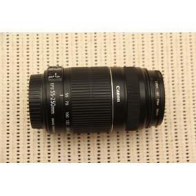 Lente Canon 55-250mm F/4-5.6 Is Il