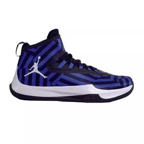 size 40 ad5b9 fa5cd Nike Bota Basquet Hombre Jordan Fly Unlimited Azulnegro