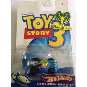 Bx409 Hw Hot Wheels Toy Story Little Green Speedster Disney