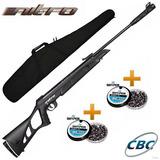 Carabina Pressão Nitro X 1000 X1000 Cbc Gas Ram 5,5mm + Capa