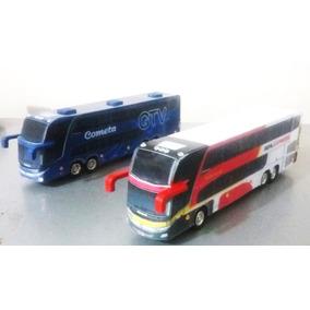 02 Ônibus Turismo / Viagem - Cod. 07 - Perez Ferromodelismo