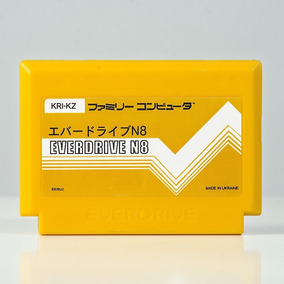 Everdrive N8 Famicom 60 Pinos Original Krikzz Sem Cartão