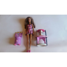 Boneca Barbie Fashion C/ Acessórios Importada Mattel